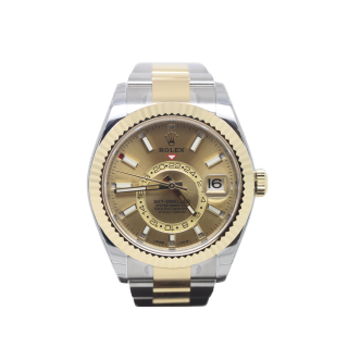 Rolex Skydweller 326933 Steel and 18ct Yellow Gold £14,995.00 - The Cheshire Watch Company