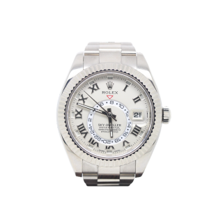 ROLEX SKYDWELLER 18CT WHITE GOLD 326939 £25,495.00 - The Cheshire Watch Company