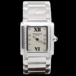 PATEK PHILIPPE Twenty-4 4910R DIAMOND SET £8195.00  - The Cheshire Watch Company Boutique Wilmslow