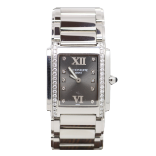 PATEK PHILIPPE Twenty-4 4910A DIAMOND SET  £6495.00  - The Cheshire Watch Company Boutique Wilmslow