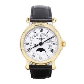 PATEK PHILIPPE PERPETUAL CALENDER 5059 J 18CT YELLOW GOLD £26,000.00 - The Cheshire Watch Company