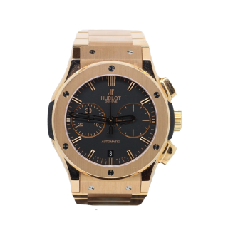 HUBLOT CLASSIC FUSION CHRONOGRAPH 18CT ROSE GOLD £21,495.00 511.OX.1180.OX  - The Cheshire Watch Company