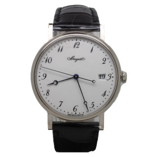 BREGUET CLASSIQUE 18CT WHITE GOLD 5177BB/29/9V6 £11,795.00 - Cheshire Watch Company