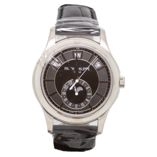 Patek Philippe Annual Calender 5205G-010 18ct White Gold £29,995.00 - The Cheshire Watch Company