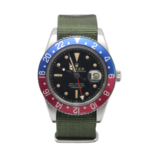 VINTAGE 1959 ROLEX GMT MASTER 6542 - The Cheshire Watch Company