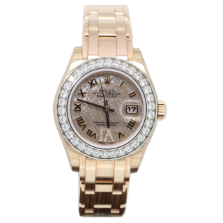 Rolex Pearlmaster 80285 - The Cheshire Watch Company ROLEX PEARLMASTER 80285 18CT ROSE GOLD £25,995.00