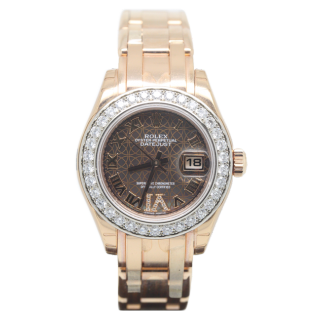 Rolex Pearlmaster 80285 - The Cheshire Watch Company ROLEX PEARLMASTER 80285 18CT ROSE GOLD £24,495.00
