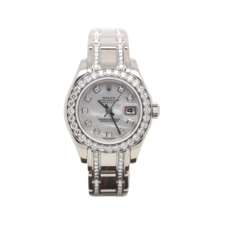 Rolex Pearlmaster 80299 18ct white gold £29,995.00 - The Cheshire Watch Company Ltd