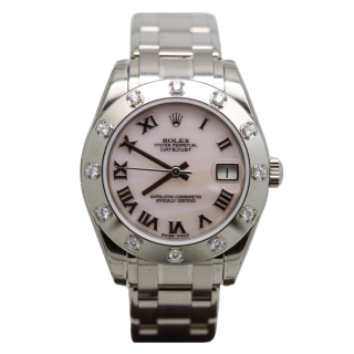 ROLEX PEARLMASTER 81319 18CT WHITE GOLD £22,800.00 - Cheshire Watch Company