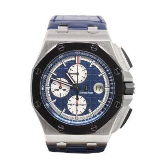 AUDEMARS PIGUET ROYAL OAK OFFSHORE PLATINUM 44mm CHRONOGRAPH 26401PO.OO.A018CR.01 - The Cheshire Watch Company