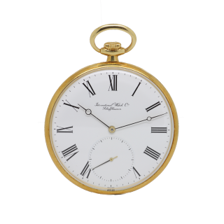 IWC POCKET WATCH 18CT YELLOW GOLD IW520101 £3495.00