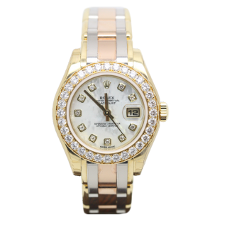 Rolex Lady Datejust Pearlmaster Tridor 80298 £25,995.00 - Cheshire Watch Company