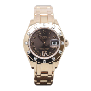 Rolex Pearlmaster 80315 18ct rose gold £16,995.00 - Cheshire Watch Company
