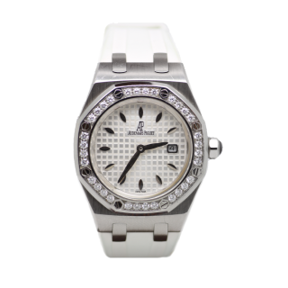 AUDEMARS PIGUET LADIES DIAMOND ROYAL OAK 67651ST.ZZ.D010CR.01 - The Cheshire Watch Company