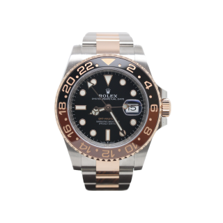 Rolex GMT Master II 126711 CHNR 18CT Rose Gold and Steel £13,995.00 - The Cheshire Watch Company