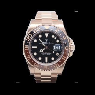 ROLEX GMT MASTER II 126715 CHNR 18CT ROSE GOLD