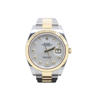 ROLEX DATEJUST 41 126333 STEEL AND 18CT YELLOW GOLD £11,695.00