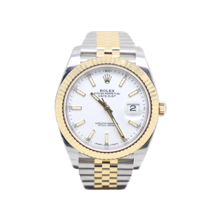 ROLEX DATEJUST 41 126333 STEEL AND 18CT YELLOW GOLD £8895.00