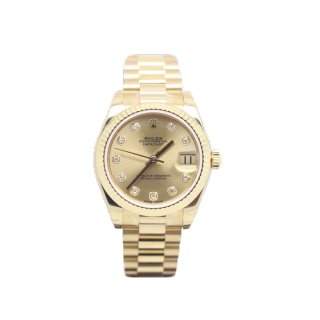 ROLEX DATEJUST 31MM MID SIZE 178278 18CT YELLOW GOLD £18,495.00