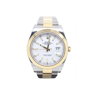 ROLEX DATEJUST 41 126303 STEEL AND 18CT YELLOW GOLD £8495.00