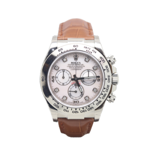ROLEX DAYTONA 116519 18CT WHITE GOLD CHRONOGRAPH £19,495.00