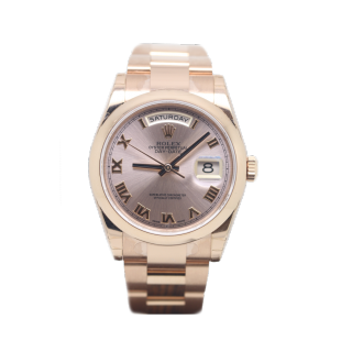 ROLEX DAYDATE 118205 18CT ROSE GOLD £20,495.00