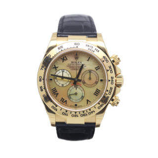 ROLEX DAYTONA 116518 18CT YELLOW GOLD CHRONOGRAPH £18,295.00