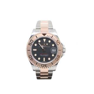 ROLEX YACHTMASTER 268621 STEEL AND 18ct ROSE GOLD £9595.00