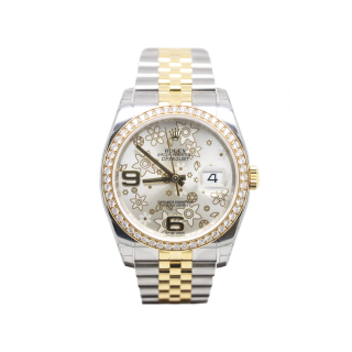 ROLEX DATEJUST 116243 STEEL AND 18CT YELLOW GOLD £12,295.00