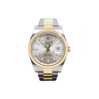 ROLEX DATEJUST 41 126333 18CT YELLOW GOLD AND STEEL £8595.00 - Cheshire Watch Company