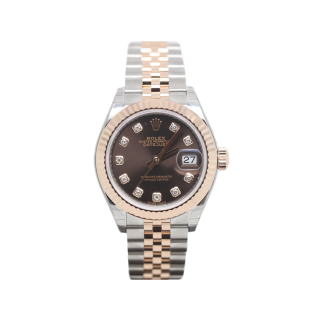 ROLEX DATEJUST 279171 DIAMOND SET 18CT ROSE GOLD £8295.00 - Cheshire Watch Company