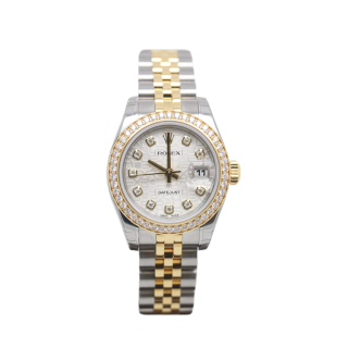 ROLEX LADY DATEJUST 179383 DIAMOND BEZEL £11,995.00