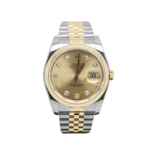 ROLEX DATEJUST 116203 STEEL AND 18CT YELLOW GOLD £9095.00