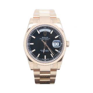 ROLEX DAYDATE 118235 18CT ROSE GOLD £20,995.00