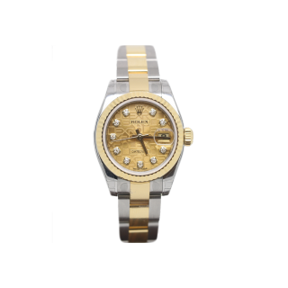 ROLEX DATEJUST 179173 18CT YELLOW GOLD DIAMOND DIAL £6595.00 - Cheshire Watch Company