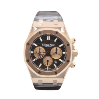AUDEMARS PIGUET ROYAL OAK 18CT ROSE GOLD CHRONOGRAPH £29,995.00 26331OR.OO.D821CR.01 - Cheshire Watch Company