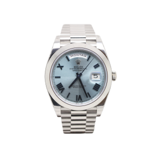 Rolex Daydate 40 228206 Platinum President £36,495.00 - The Cheshire Watch Company