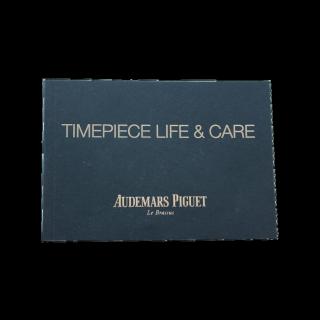 AUDEMARS PIGUET TIMEPIECE LIFE & CARE BOOKLET