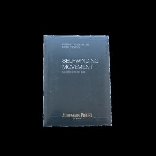 AUDEMARS PIGUET INSTRUCTION BOOKLET CALIBRE 3120/3129