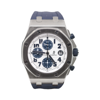 AUDEMARS PIGUET ROYAL OAK OFFSHORE NAVY THEMES CHRONOGRAPH £12,995.00 26170ST.OO.D305CR.01 - Cheshire Watch Company