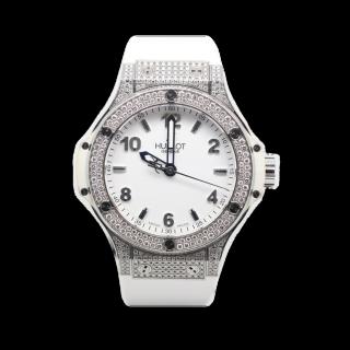 HUBLOT BIG DIAMOND BANG £7495.00   - The Cheshire Watch Company