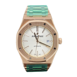 AUDEMARS PIGUET ROYAL OAK 18CT ROSE GOLD 15400OR.OO.1220OR.02 £32,995.00 - Cheshire Watch Company