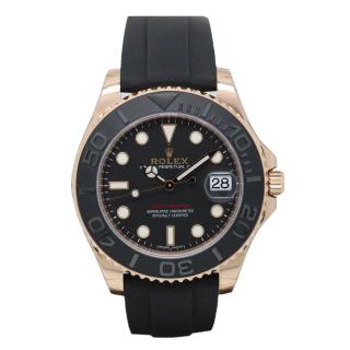 ROLEX YACHTMASTER 18CT ROSE GOLD 116655 £16,995.00 - Cheshire Watch Company