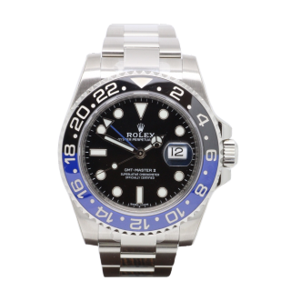ROLEX GMT MASTER II 116710BLNR VALET £100.00