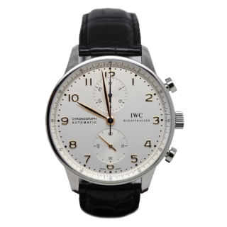 IWC PORTUGUESE CHRONOGRAPH IW371445 £4995.00 - CHESHIRE WATCH COMPANY