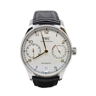 IWC PORTUGUESE SEVEN DAY IW500704 £7995.00 - Cheshire Watch Company
