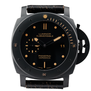 OFFICINE PANERAI SUBMERSIBLE SPECIAL EDITION PAM 508 CERAMICA -C W C