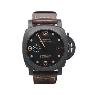 OFFICINE PANERAI LUMINOR CARBOTECH PAM 661 £8495.00 - Cheshire Watch Company