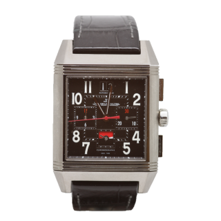 JAEGER LE COULTRE REVERSO SQUADRA GMT CHRONOGRAPH Q701867P £6295.00  - Cheshire Watch Company