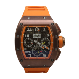 RICHARD MILLE RM 011 FELIPE MASSA TITANIUM BRONZE LIMITED EDITION £83,995.00  -  Cheshire Watch Company